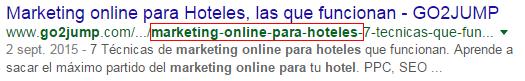 URLs amigables para SEO On page