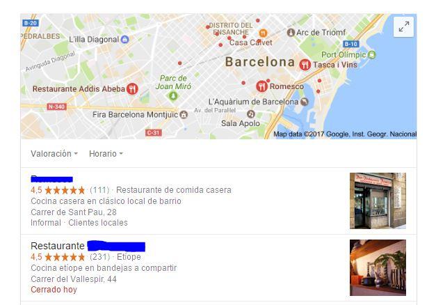 La clave para crear contenido semántico que sea apreciado tanto por Google como por los usuarios como de calidad, es que se facilite la información que así lo testifique, como la calificación por estrellas o por puntos