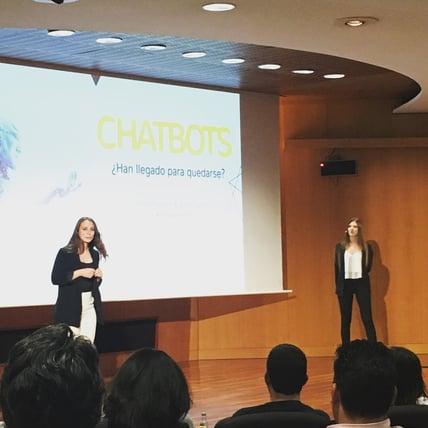 La relacionada con los Chatbots fue de las conferencias más sorprendentes dentro del Inbound Leaders 18