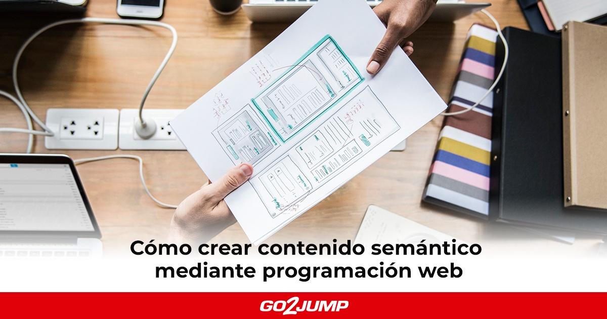 Para una mejor optimización del contenido semántico, podemos contar con la ayuda de la programación web