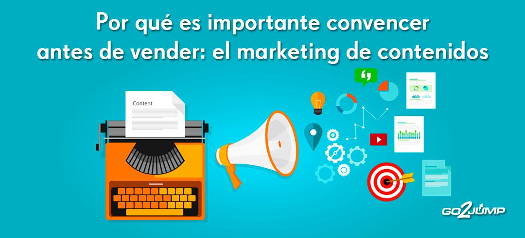 Una estrategia adecuada de Marketing de Contenidos conduce hacia la venta sin forzar al lector a ello