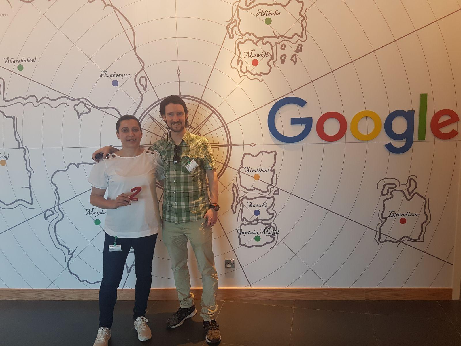 GO2JUMP de visita a las oficinas de Google en Dubái