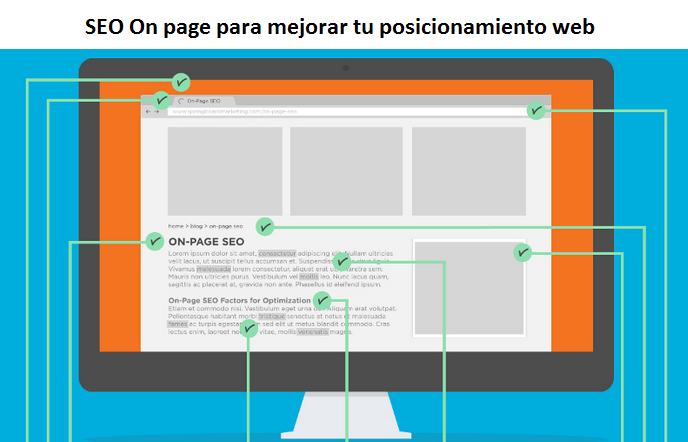SEO On page para mejorar tu posicionamiento web