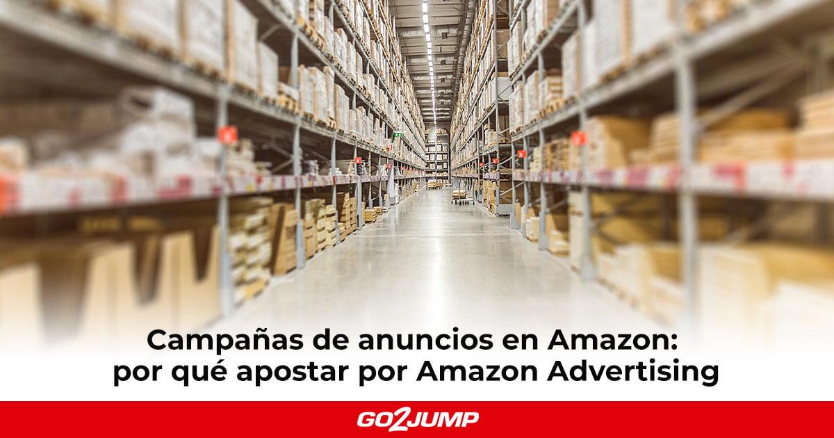 Campañas de anuncios en Amazon: Amazon Advertising