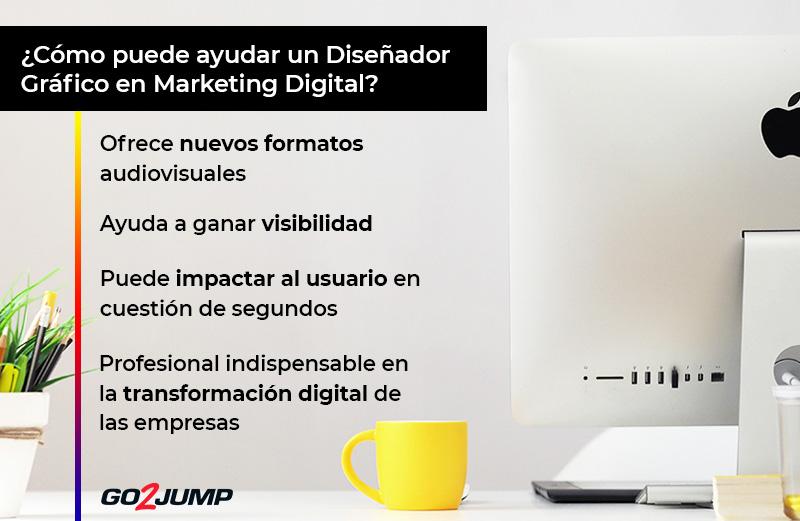 ¿Como puede ayudar un Diseñador Gráfico en Marketing Digital?