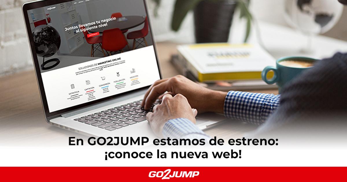 Nueva web GO2JUMP