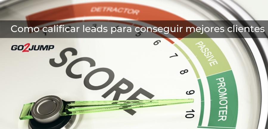 Lead scoring, calificación de clientes