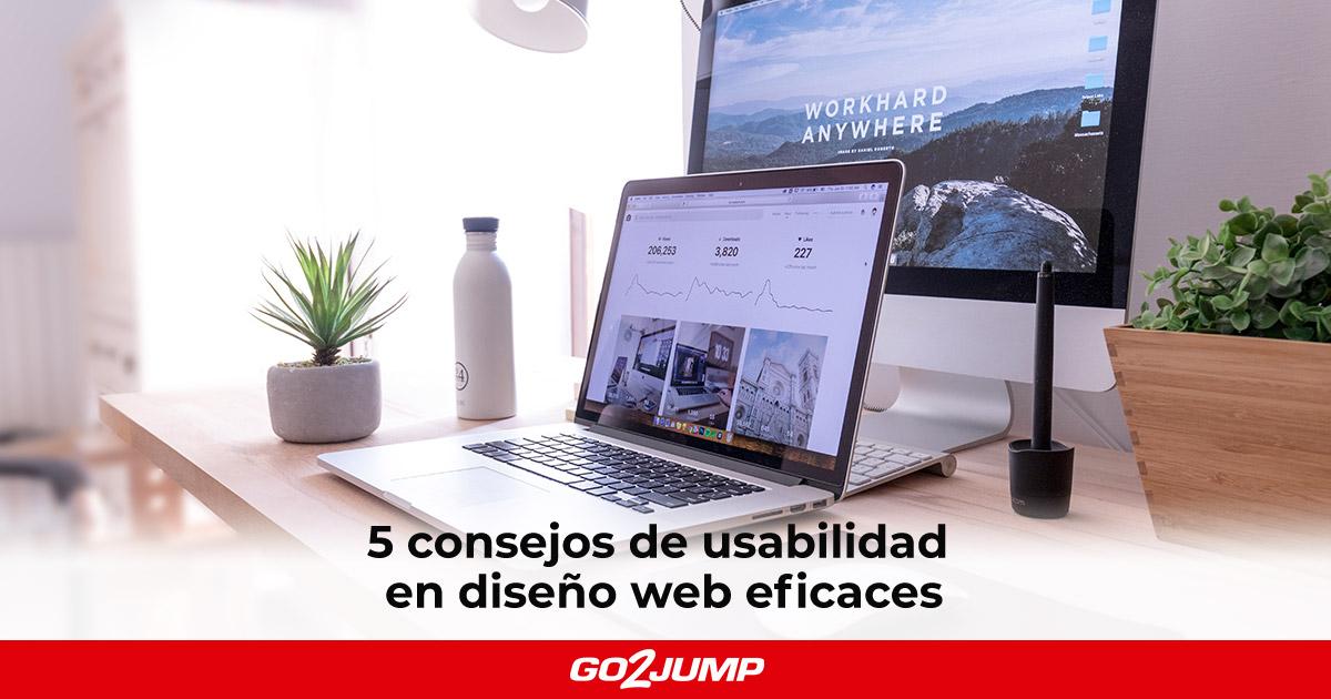 5 consejos de usabilidad en diseño web eficaces