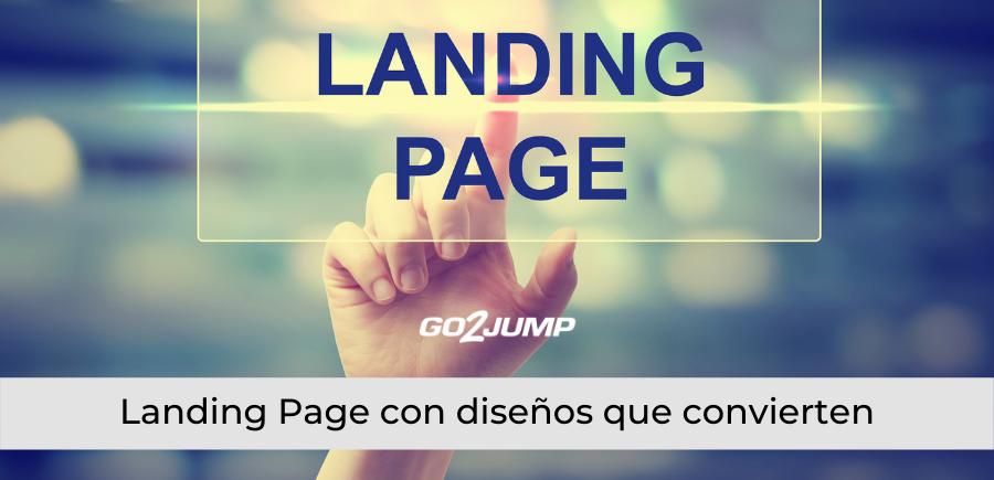 Landing Page con diseños que convierten