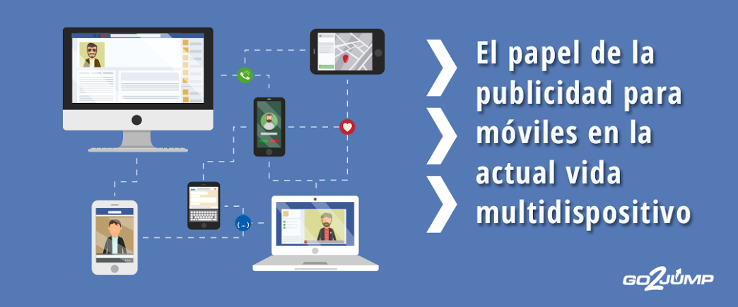 Publicidad para móviles: Su papel en la actual vida multidispositivo