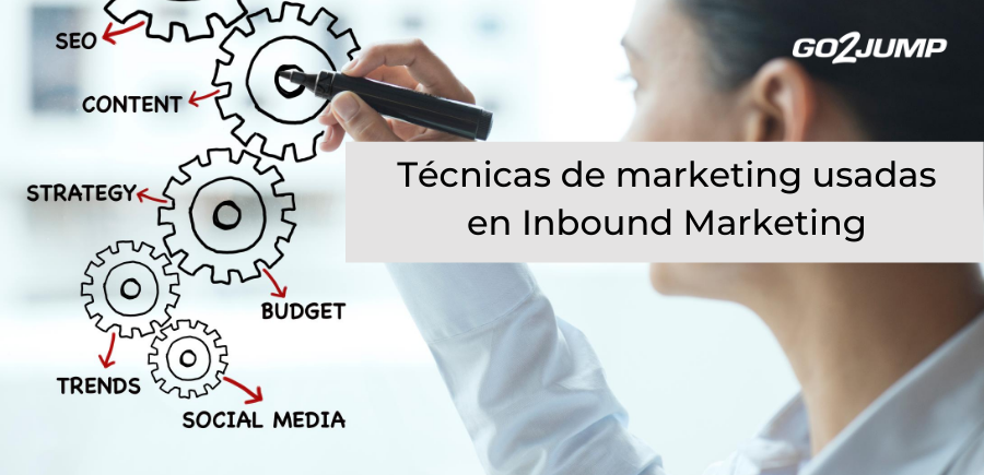 Técnicas de marketing usadas en la metodología Inbound Marketing