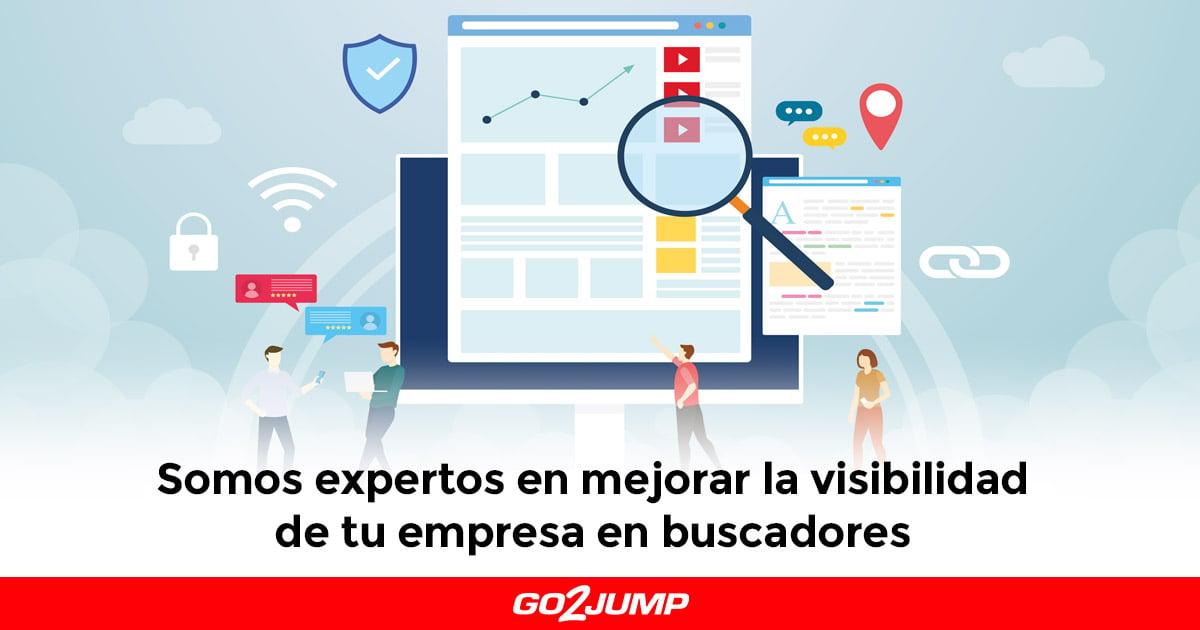 Somos expertos en mejorar la visibilidad de tu empresa en buscadores